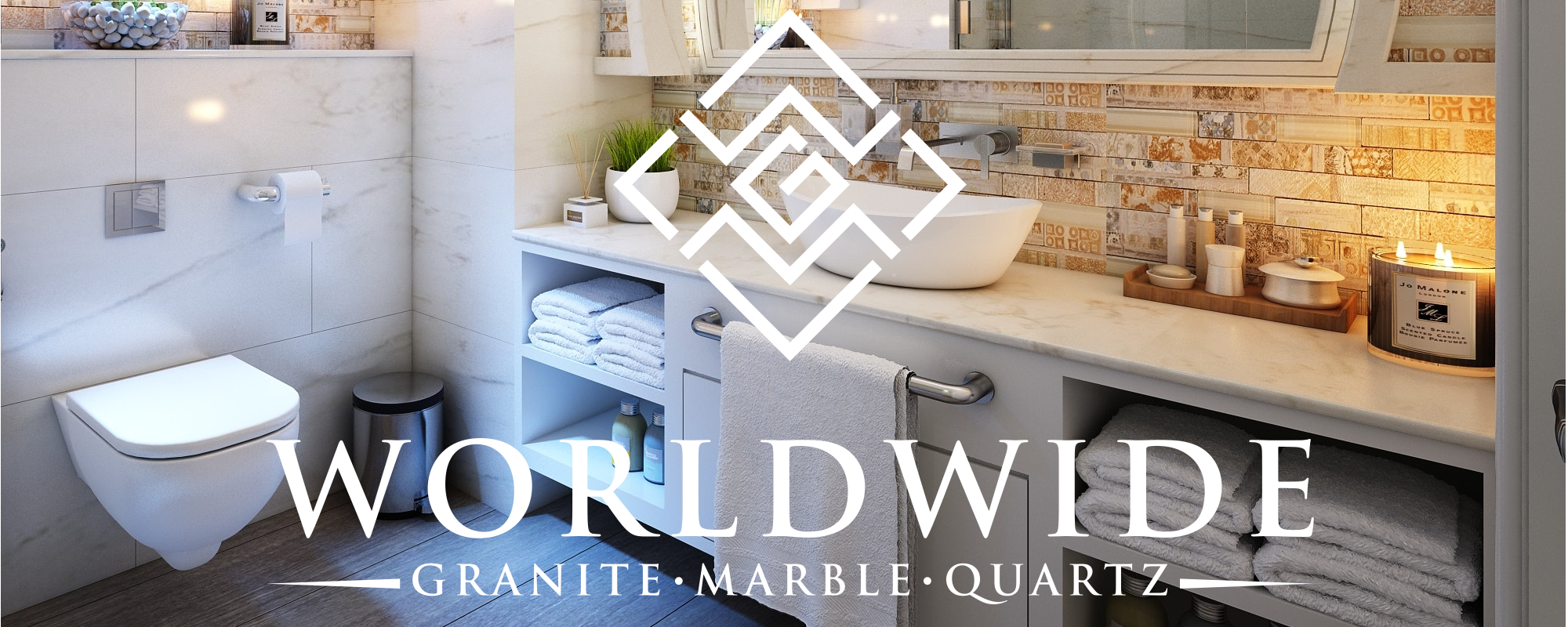 marble bathroom counters Cleveland